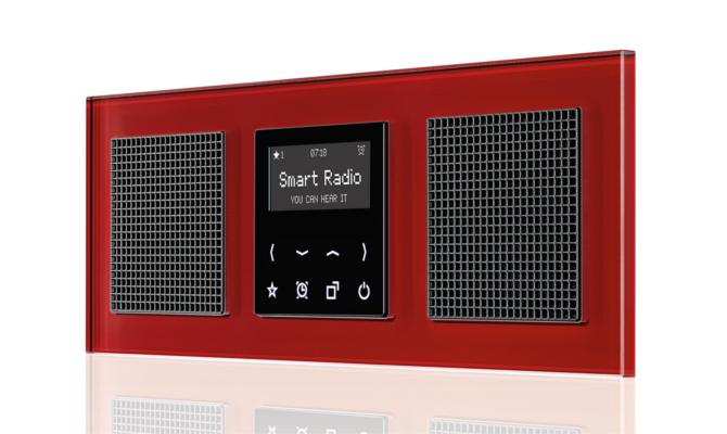 la nueva smart radio de jung la casa ead. Black Bedroom Furniture Sets. Home Design Ideas