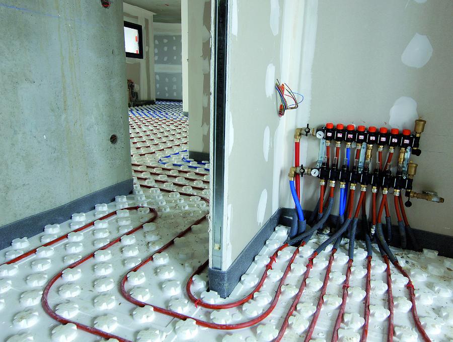 Biofloor calefacci n por suelo radiante a baja - Calefaccion por hilo radiante ...